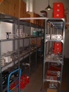 Fluidtechnic Raktár